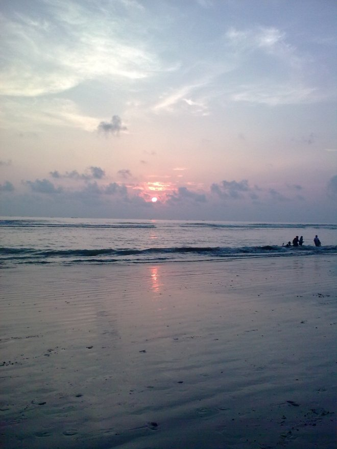 Sunset @ Cox's Bazar